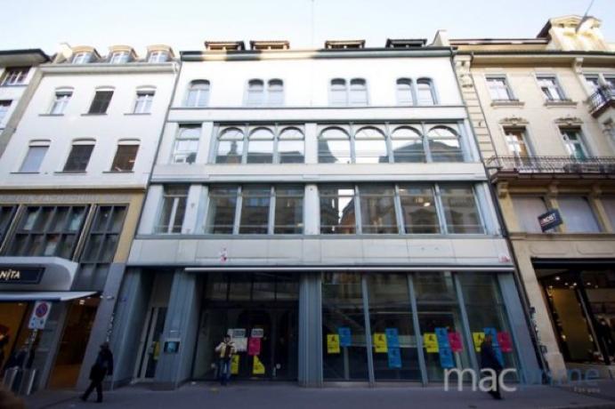 Apple Store vo Švajčiarskom meste Bazilej
