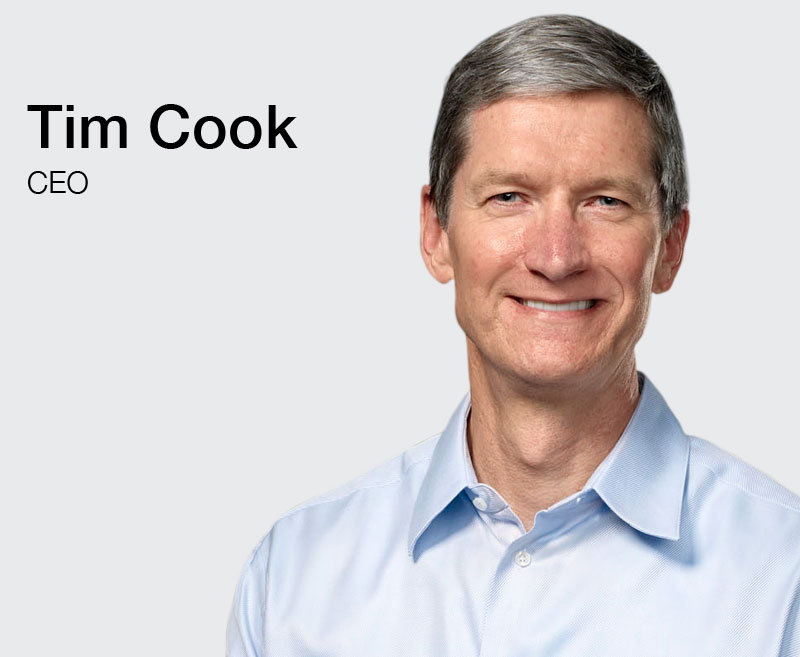 Tim Cook CEO