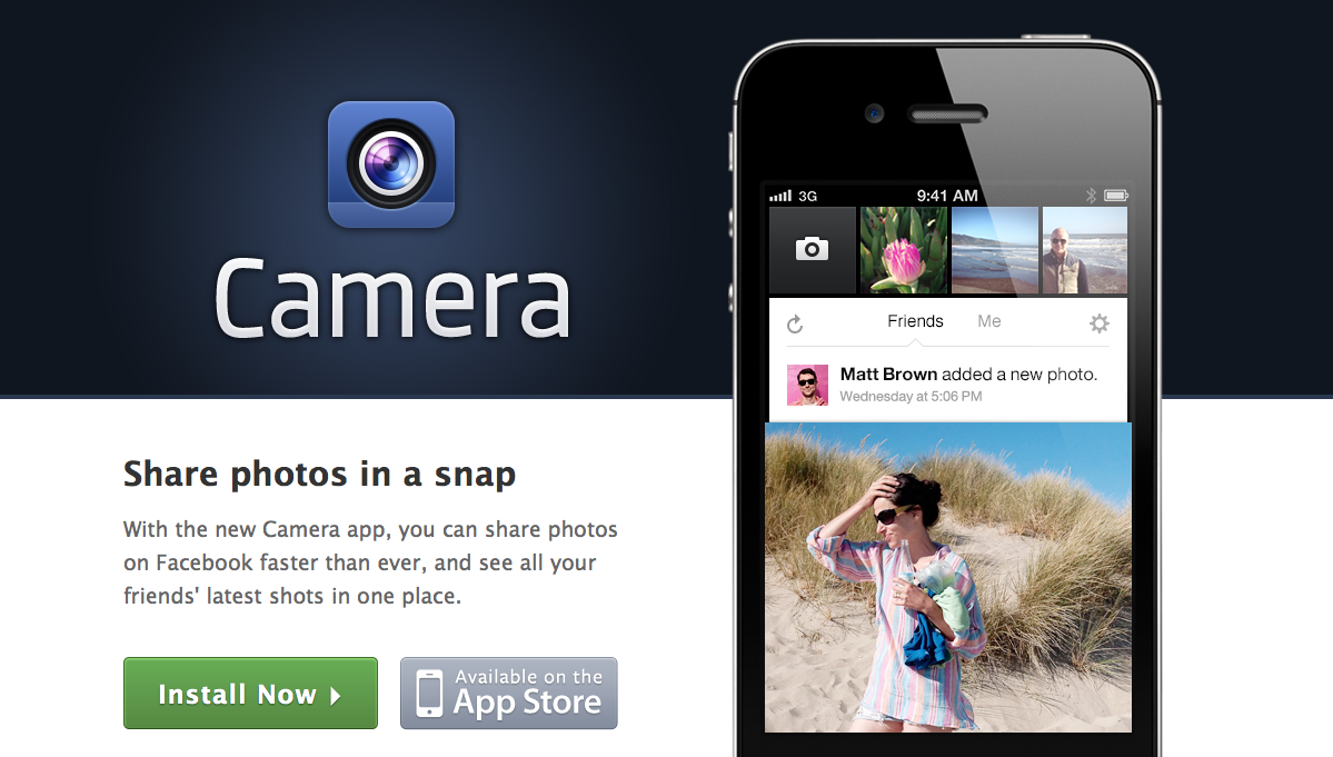 Facebook Camera - iOS app