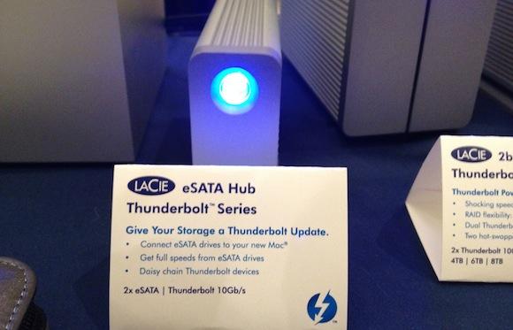 LaCie Thunderbolt eSATA Hub