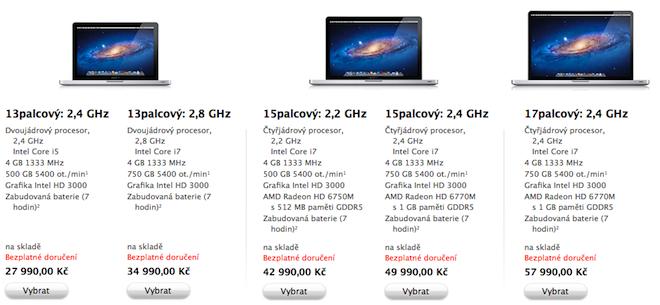 New MacBook Pro 2011