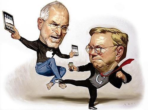 Schmidt vs. Jobs