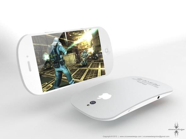 Zaoblený iPhone 5