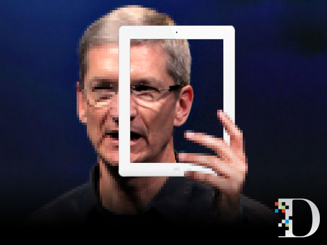 iPad a Tim Cook