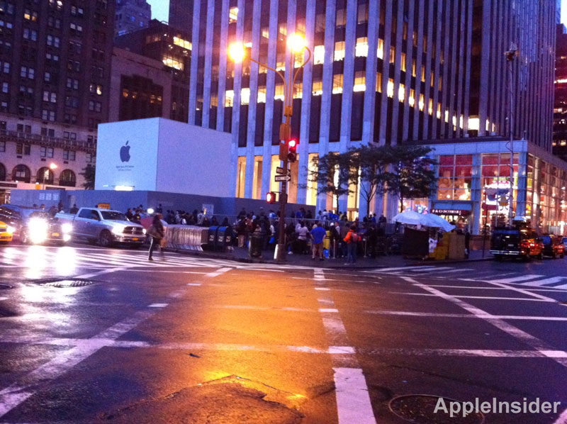 iPhone 4S Lines NY