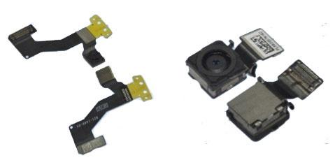 iPhone 5 obe optiky a  kabeláž tlačidla Home
