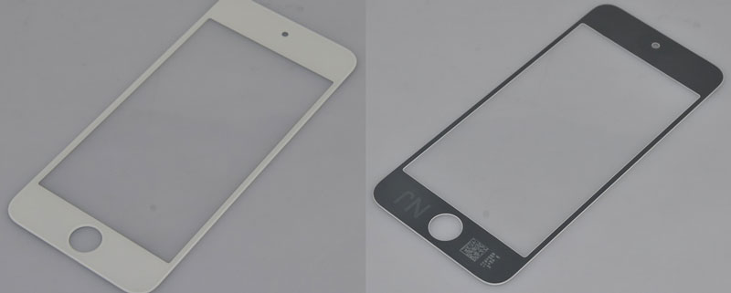 iPod Touch 5G - front panel