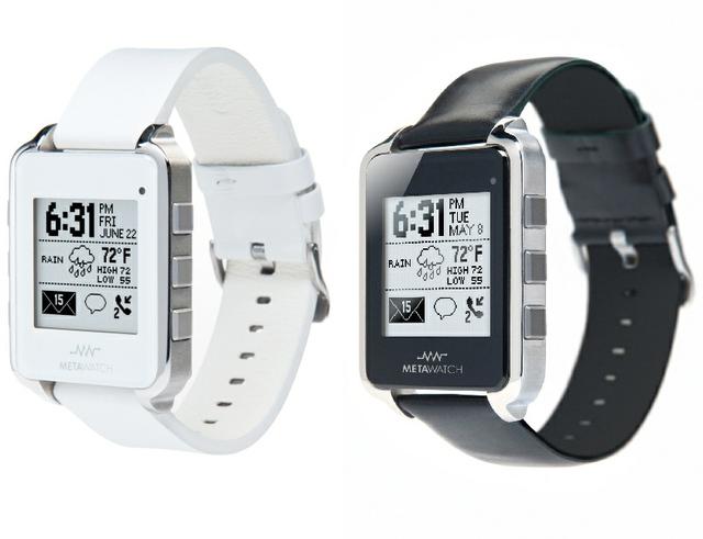 MetaWatch - Bluetooth 4.0 hodinky