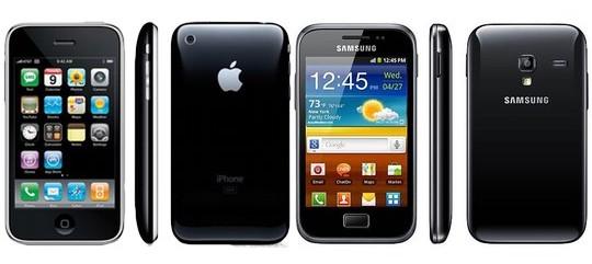 Apple iPhone vs. Samsung Galaxy S