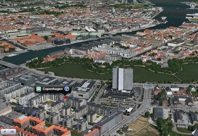 Flyover - Copenhagen