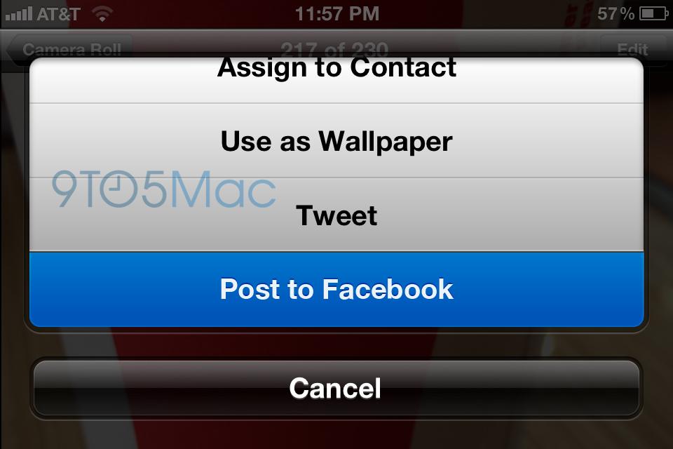 iOS 6 - Facebook integration