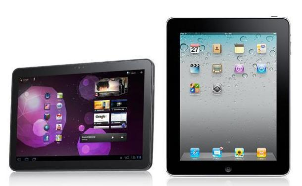 Galaxy Tab 10.1 vs. iPad