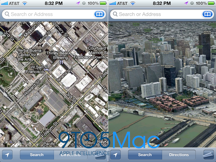 iOS 6 - New Maps
