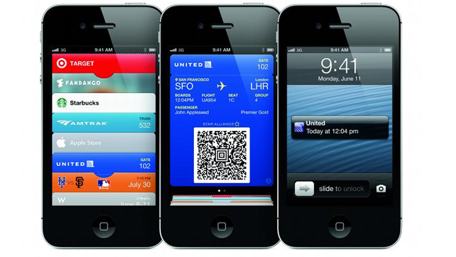 iOS 6 - Passbook