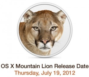 OS X 10.8 Mountain Lion Release Date