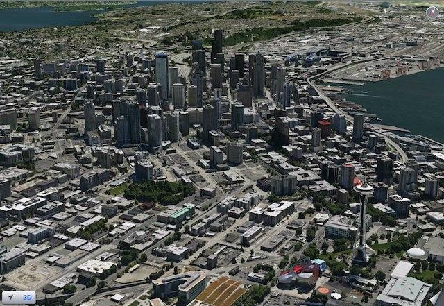 Flyover - Seattle