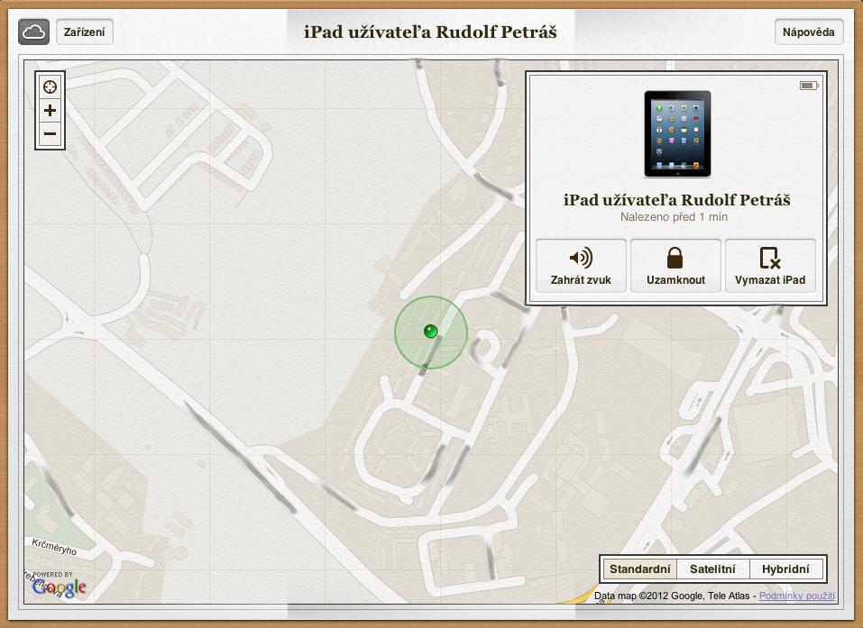 iCloud - Find My iPhone