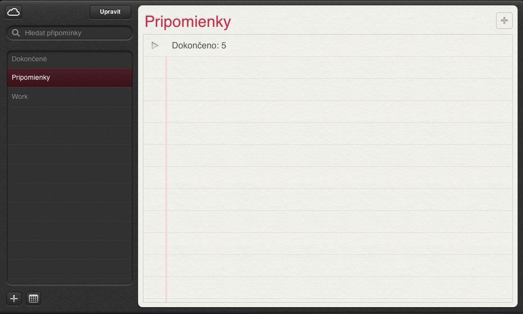 iCloud - Reminders