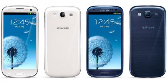 4-palcový Galaxy S III