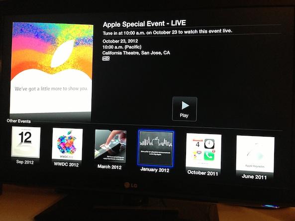 Apple Event Live Stream