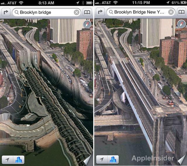 Apple Maps Improvements