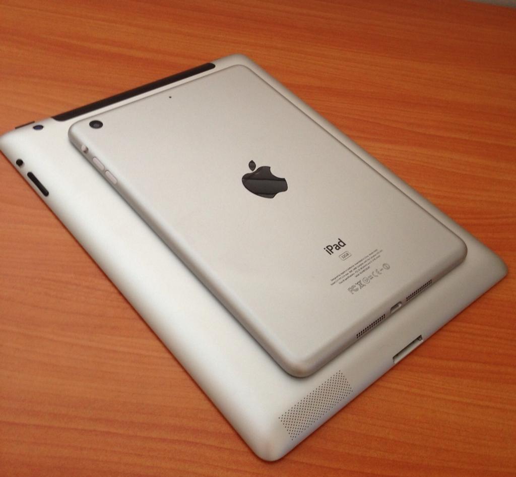 iPad mini vs. new iPad