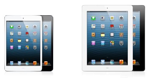 iPad mini vs. iPad 4
