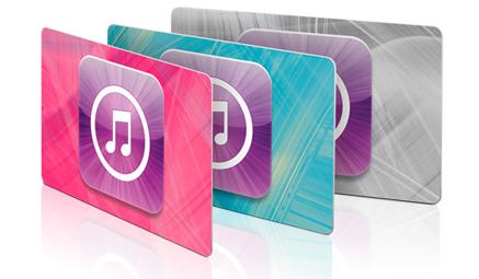 iTunes Gift Cards Slovensko