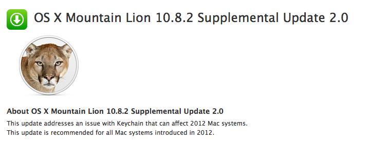 OS X 10.8.2 Supplemental Update 2.0