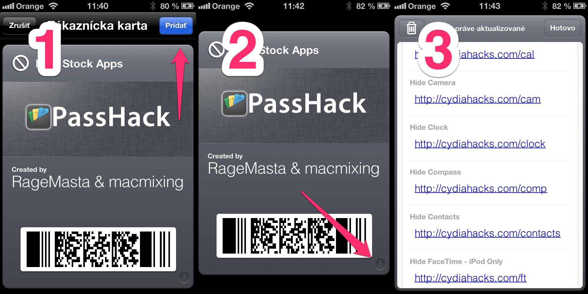 Skryť iOS aplikácie