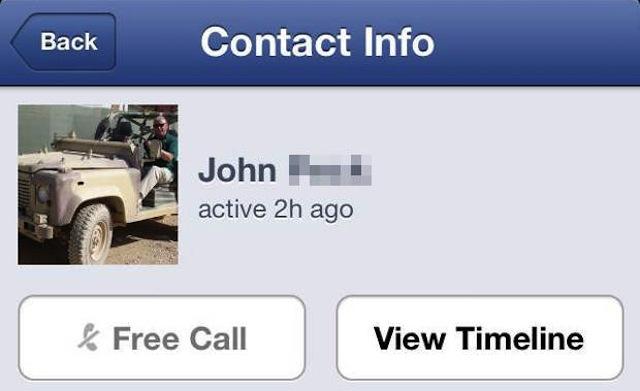 Facebook Messenger VoIP