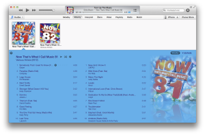 iTunes Výberovky