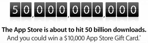 App Store 50 miliárd stiahnutí