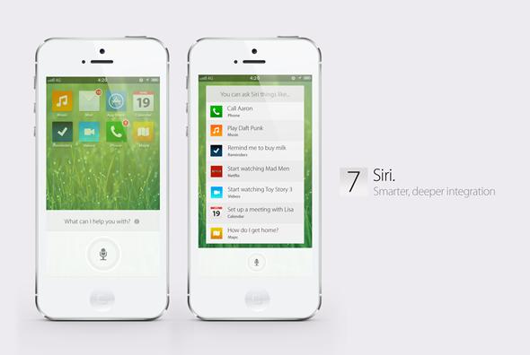 iOS 7 Koncept
