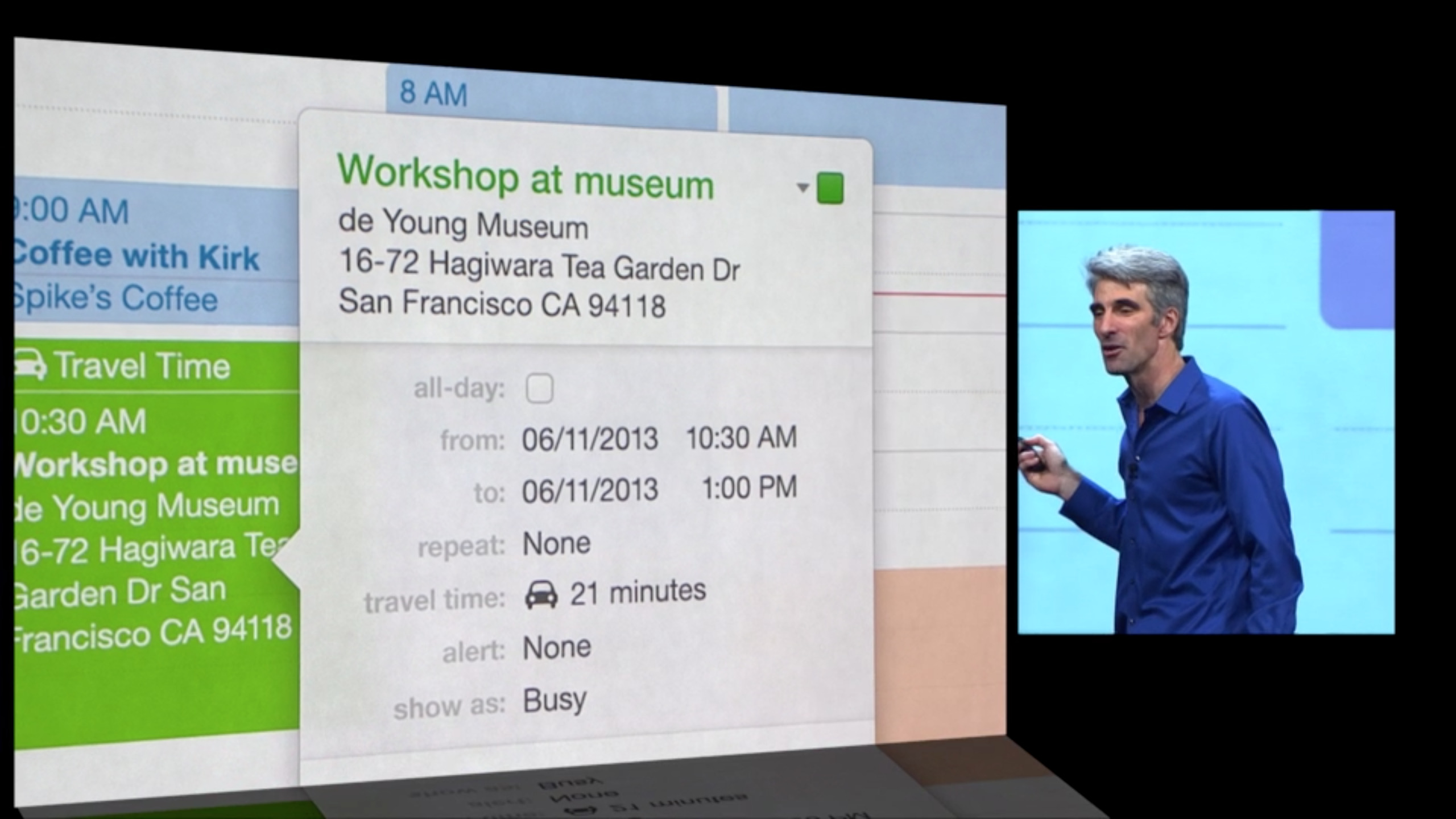 OS X Mavericks - Calendar