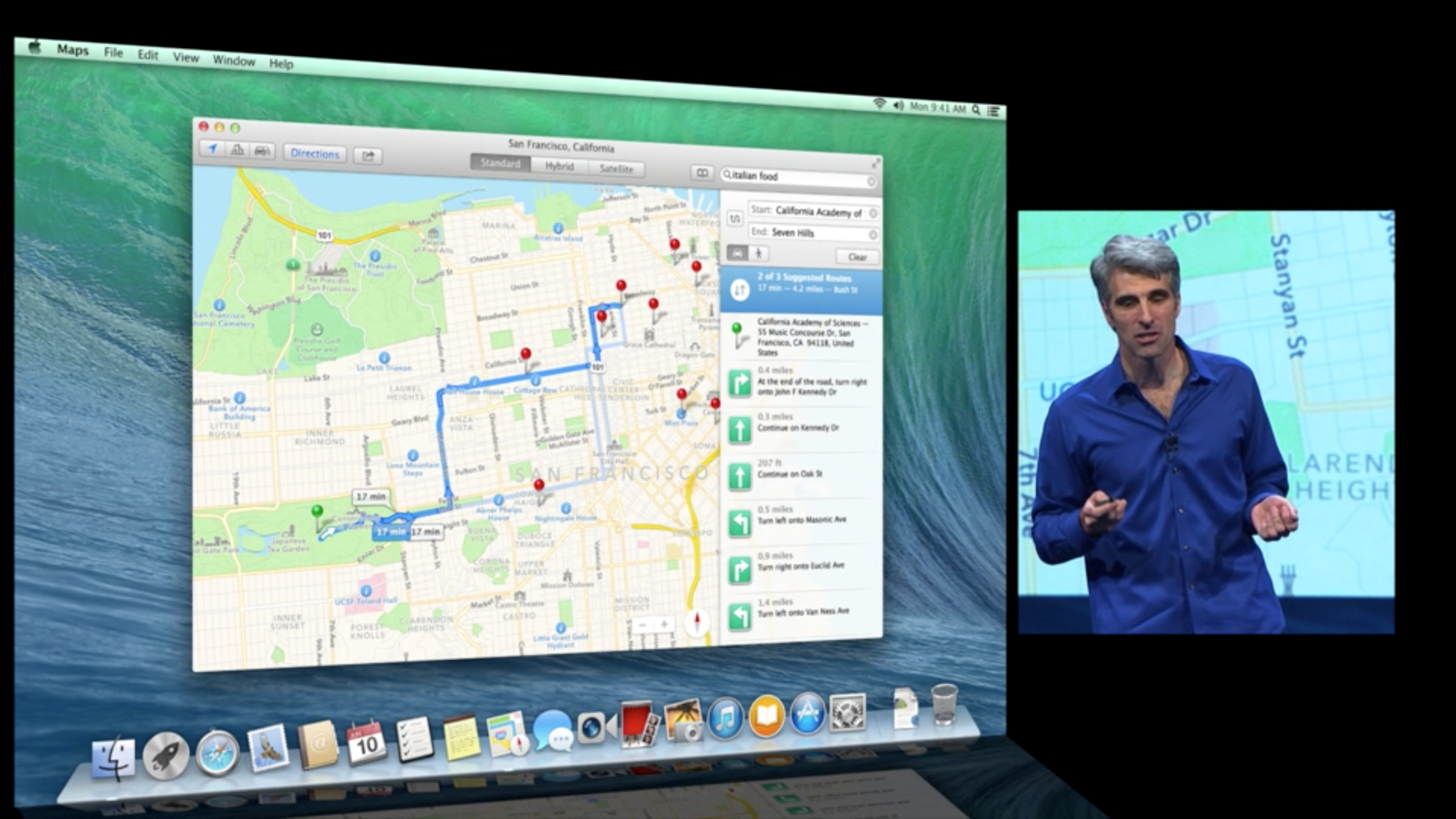 OS X Mavericks - Maps