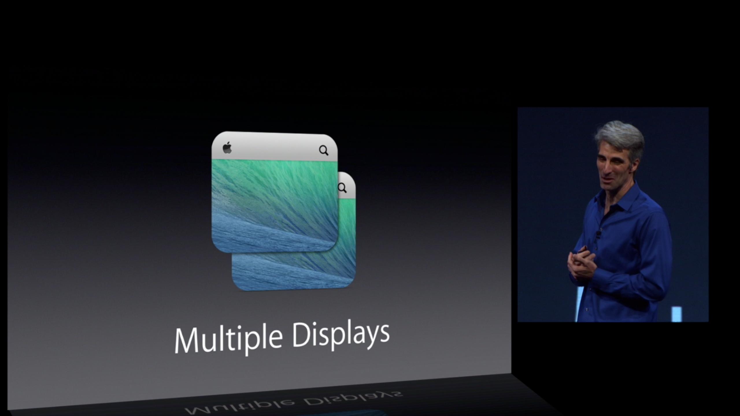 OS X Mavericks - Multiple Displays