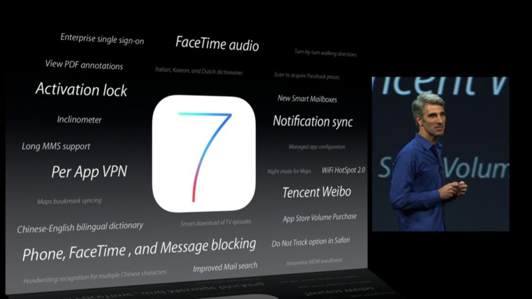 WWDC 2013 - iOS 7 - Ostatné