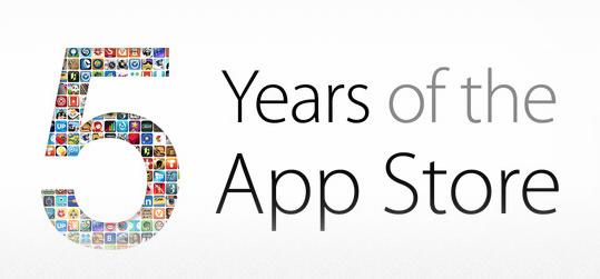 App Store 5. narodeniny