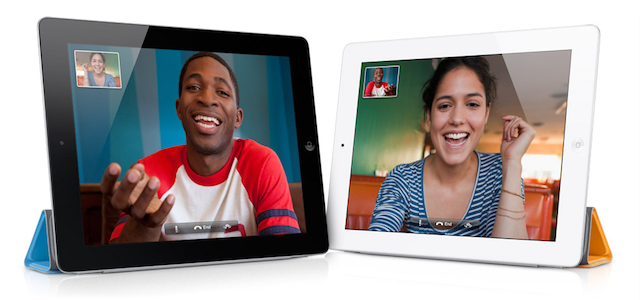 FaceTime hovory iOS 7.0.4
