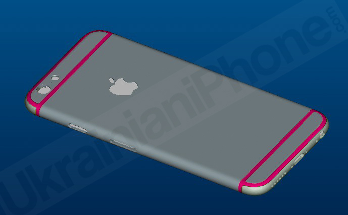 iPhone 6 render