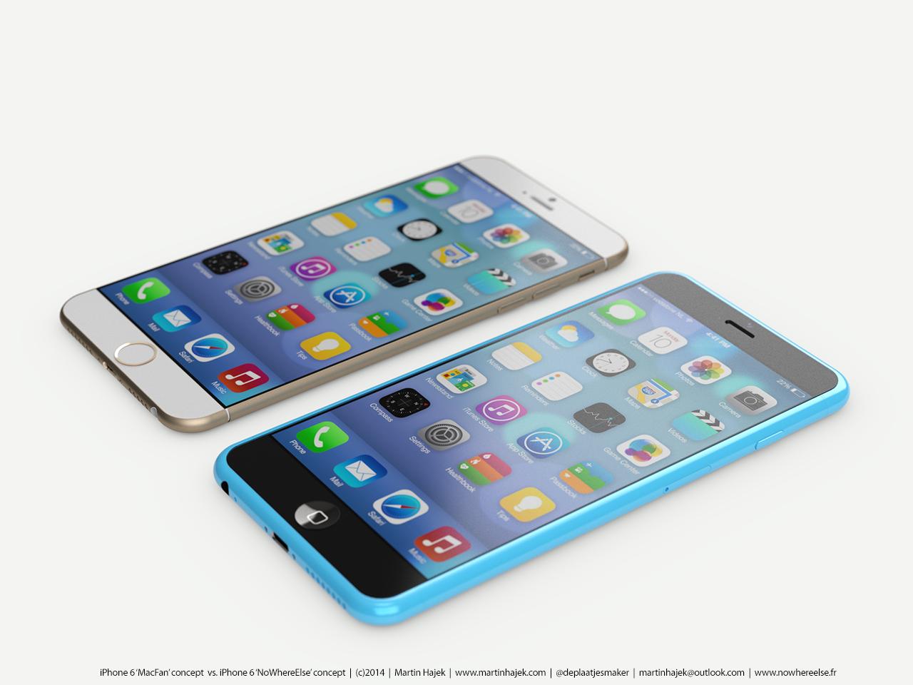 iPhone 6 koncept Martin Hajek