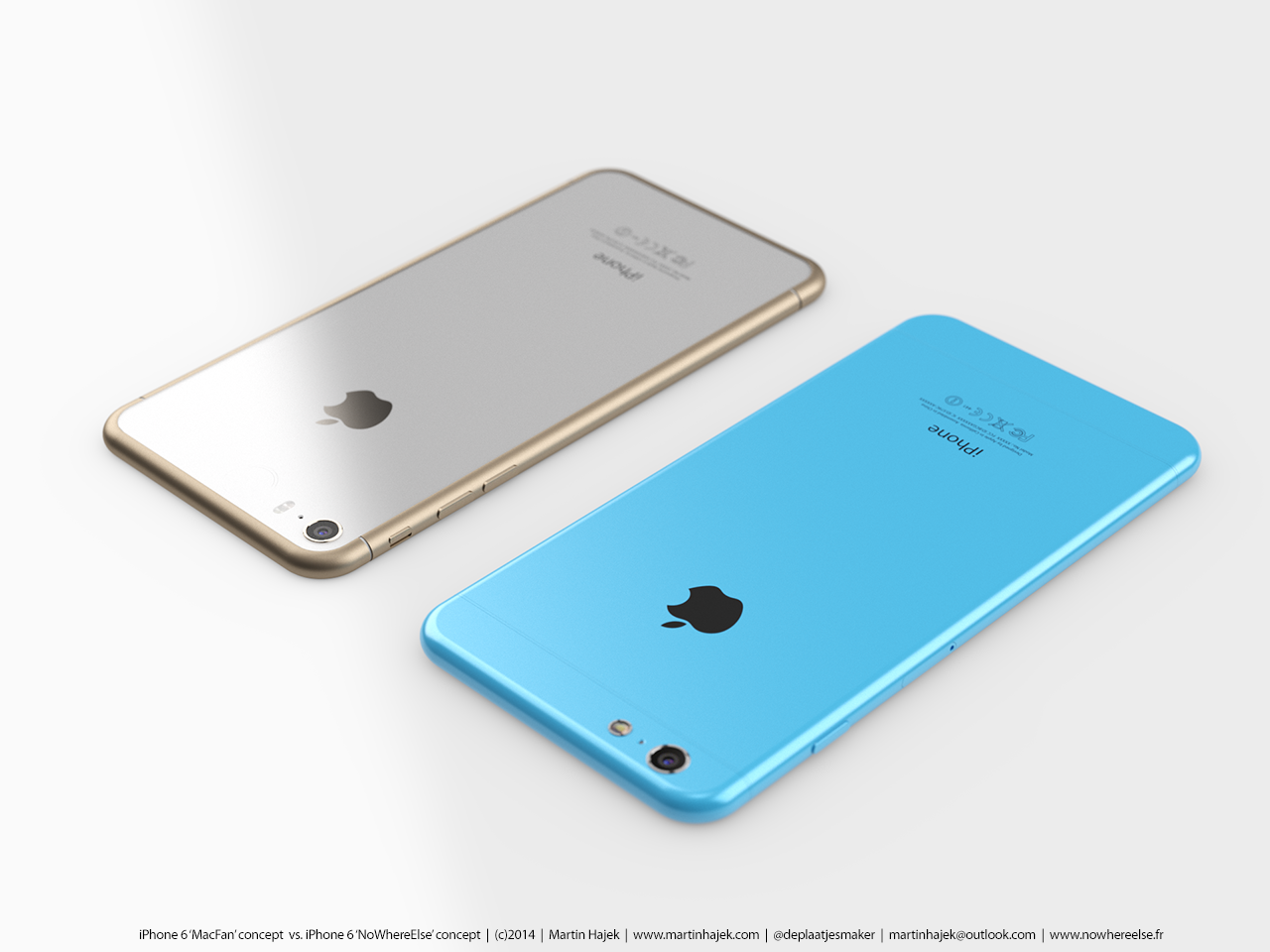 iPhone 6 koncept Martin Hajek